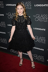 August 9, 2017 - New York, NY, USA - August 9, 2017  New York City..Ella Anderson attending 'The Glass Castle' film premiere on August 9, 2017 in New York City. (Credit Image: © Kristin Callahan/Ace Pictures via ZUMA Press)