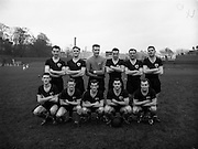 05/11/1960<br /> 11/05/1960<br /> 05 November 1960<br /> Soccer, League of Ireland: Cork Celtic v St Patrick's Athletic at Richmond Park, Dublin. The Cork Celtic team.