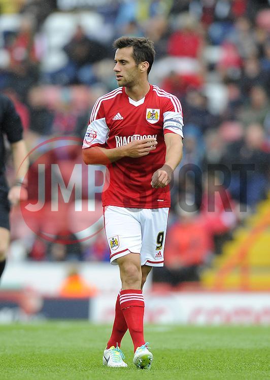 Bristol City's Sam Baldock  - Photo mandatory by-line: Joe Meredith/JMP - Tel: Mobile: 07966 386802 17/08/2013 - SPORT - FOOTBALL - Ashton Gate - Bristol -  Bristol City V Wolves - Sky Bet League One