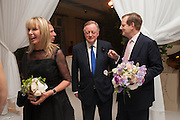 SUSAN SANGSTER; ANDREW PARKER BOWLES; EARL OF DERBY, The Cartier Chelsea Flower show dinner. Hurlingham club, London. 20 May 2013.