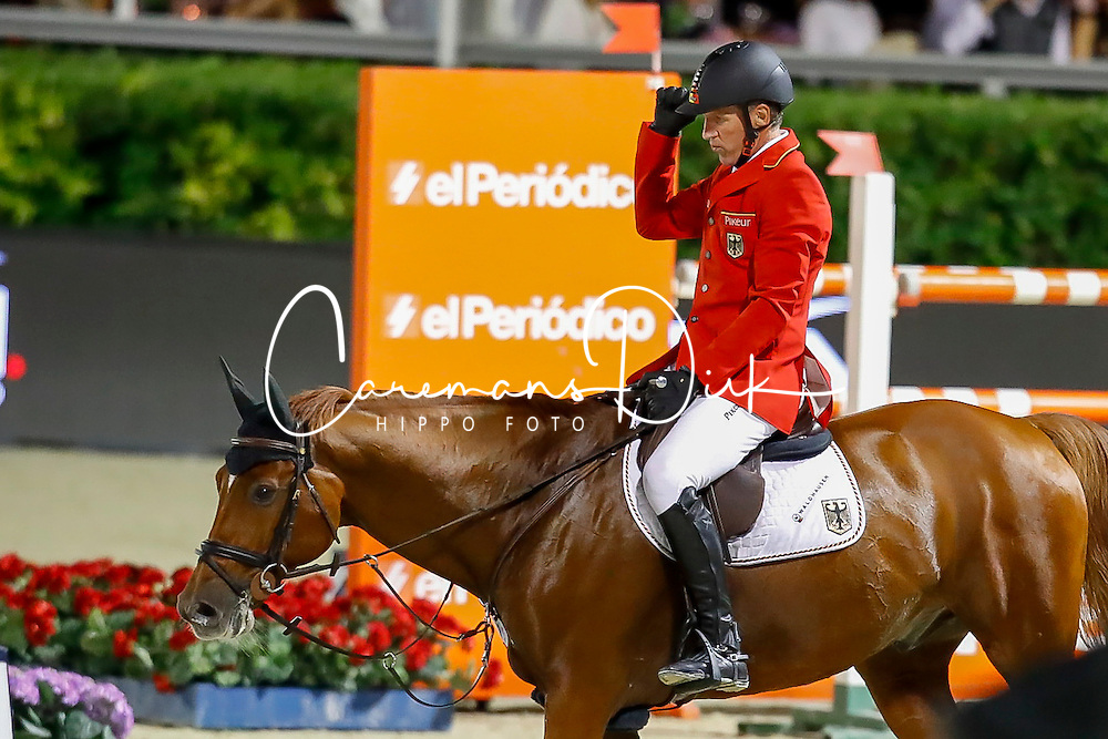 Beerbaum Ludger, GER, Casello<br /> Furusiyya FEI Nations Cup Jumping Final - Barcelona 2016<br /> © Hippo Foto - Dirk Caremans<br /> 24/09/16