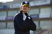 Hampshire County Cricket Club's new signing Sam Northeast  during the new signing press conference for Hampshire County Cricket Club at the Ageas Bowl, Southampton, United Kingdom on 23 February 2018. Picture by Dave Vokes.