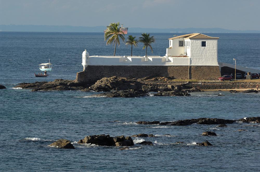 Fort at Barra, Salvador, Bahia, Brazil