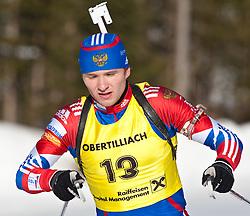 12.12.2010, Biathlonzentrum, Obertilliach, AUT, Biathlon Austriacup, Verfolgung Men, im Bild Alexandr Ogarkov (RUS, #13). EXPA Pictures © 2010, PhotoCredit: EXPA/ J. Groder
