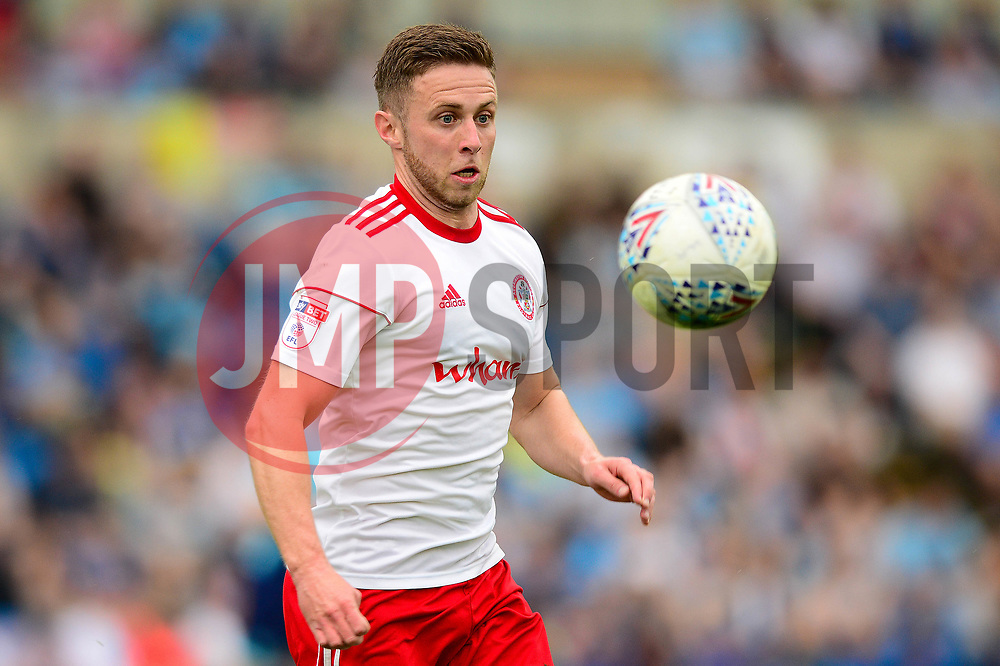 Jordan Clark of Accrington Stanley - Mandatory by-line: Dougie Allward/JMP - 21/04/2018 - FOOTBALL - Adam's Park - High Wycombe, England - Wycombe Wanderers v Accrington Stanley - Sky Bet League Two