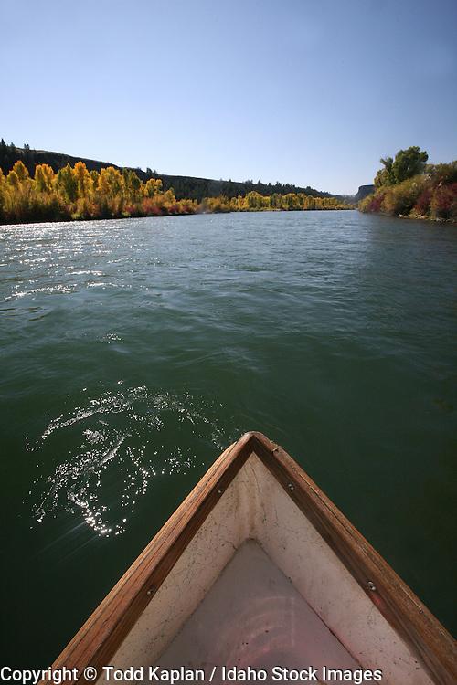 Idaho, fly fishing, Henry's Fork of the Snake River, fall, driftboat