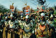 Tribal gathering Sing Sing at Mount Hagen in Papua New Guinea, South Pacific