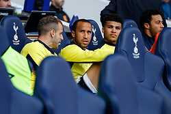Andros Townsend of Tottenham Hotspur looks on from the bemch - Photo mandatory by-line: Rogan Thomson/JMP - 07966 386802 - 16/05/2015 - SPORT - FOOTBALL - London, England - White Hart Lane - Tottenham Hotspur v Hull City - Barclays Premier League.