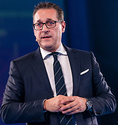 10.01.2018, Congress, Innsbruck, AUT, Landtagswahl Tirol, Wahlkampfauftakt der Tiroler FPÖ, im Bild Heinz Christian Strache (Bundesparteiobmann FPÖ) // during the election campaign of the Tyrolean Freedom Party for the forthcoming state election 2018 at the Congress in Innsbruck, Austria on 2018/01/10. EXPA Pictures © 2018, PhotoCredit: EXPA/ Stefan Adelsberger