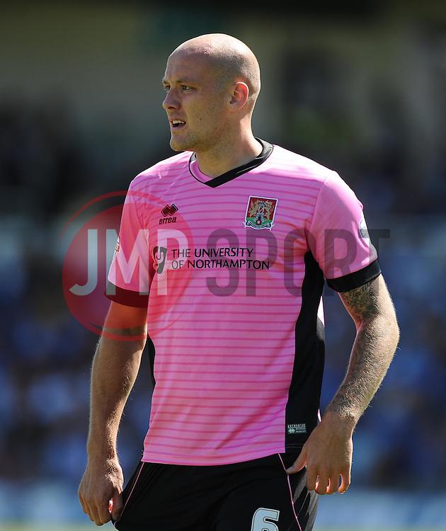 Ryan Cresswell of Northampton Town  - Mandatory byline: Joe Meredith/JMP - 07966386802 - 08/08/2015 - FOOTBALL - Memorial Stadium -Bristol,England - Bristol Rovers v Northampton Town - Sky Bet League Two