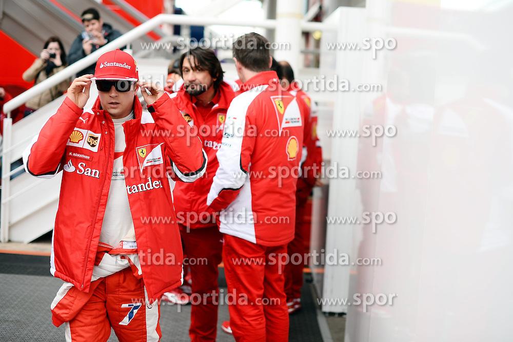 26.02.2015, Circuit de Catalunya, Barcelona, ESP, FIA, Formel 1, Testfahrten, Barcelona, Tag 1, im Bild Kimi Raikkonen (FIN) Ferrari // during the Formula One Testdrives, day one at the Circuit de Catalunya in Barcelona, Spain on 2015/02/26. EXPA Pictures &copy; 2015, PhotoCredit: EXPA/ Sutton Images/ Patrik Lundin Images<br /> <br /> *****ATTENTION - for AUT, SLO, CRO, SRB, BIH, MAZ only*****