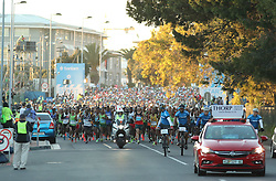 The start of the race during the 2016 Sanlam Cape Town marathon held in Cape Town, South Africa on the 18th September  2016<br /> <br /> Photo by: Ron Gaunt / RealTime Images