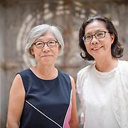 Curators Ma-li and Rey-fang