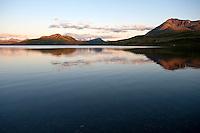Pegati Lake, Headwaters of the Kanektok River..shot in Alaska, USA..