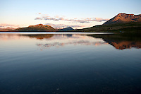 Pegati Lake, Headwaters of the Kanektok River..shot in Alaska, USA..