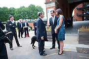 DAVID BLUNKETT; DAVID CAMERON; SAMANTHA CAMERON; , Summer party hosted by Rupert Murdoch. Oxo Tower, London. 17 June 2009