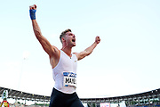 Kevin Mayer (FRA) competes in Triathlon men's during the Meeting de Paris 2018, Diamond League, at Charlety Stadium, in Paris, France, on June 30, 2018 - Photo Julien Crosnier / KMSP / ProSportsImages / DPPI