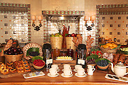 Coffee break set up at Capella Pedregal Hotel and Resort in Cabo San Lucas, Baja California Sur, Mexico