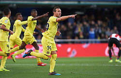 January 20, 2019 - Villarreal, Castellon, Spain - Santiago Cazorla of Villarreal celebrates a goal during the La Liga Santander match between Villarreal and Athletic Club de Bilbao at La Ceramica Stadium on Jenuary 20, 2019 in Vila-real, Spain. (Credit Image: © Maria Jose Segovia/NurPhoto via ZUMA Press)