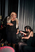 DEE C. LEE; LEAH WELLER;  The launch screening of ÔAnimal CharmÕ  and ÔSusie LovittÕ - W hotel leicester sq. London. 31 January 2012.<br /> DEE C. LEE; LEAH WELLER;  The launch screening of 'Animal Charm'  and 'Susie Lovitt' - W hotel leicester sq. London. 31 January 2012.