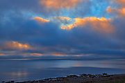 Clouds at sunrise over the Cabot Strait (Atlantic Ocean)<br />Channel-Port-aux Basques<br />Newfoundland & Labrador<br />Canada
