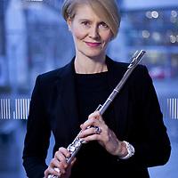 Rosemary Elliot.<br /> Hebrides Ensemble flautist.<br /> <br /> Picture Drew Farrell<br /> Tel : 07721-735041.