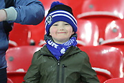 Rochdale Fans   during the The FA Cup match between Tottenham Hotspur and Rochdale at Wembley Stadium, London, England on 28 February 2018. Picture by Daniel Youngs.