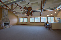 Interior photo of the Clubroom at McDonogh Township by Jeffrey Sauers of Commercial Photographics