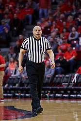 11 February 2017:  Ed Crenshaw during a College MVC (Missouri Valley conference) mens basketball game between the Bradley Braves and Illinois State Redbirds in  Redbird Arena, Normal IL