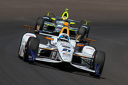 May 26, 2017 - Indianapolis, UNITED STATES OF AMERICA - 21 JR HILDEBRAND (USA) ED CARPENTER RACING (USA) CHEVROLET (Credit Image: © Panoramic via ZUMA Press)