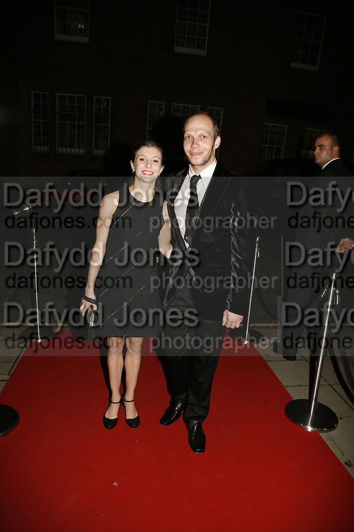 Alina Cojocoru and Johan Kobborg, Sadler's Wells Celebrates. Benefit evening for Sadler's Wells hosted by Angela Bernstein and Alistair Spalding. The Royal Horticultural Halls. London. 25 September 2006. -DO NOT ARCHIVE-© Copyright Photograph by Dafydd Jones 66 Stockwell Park Rd. London SW9 0DA Tel 020 7733 0108 www.dafjones.com