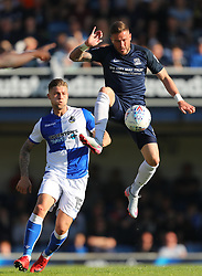 Michael Kightly of Southend United controls the ball under pressure from James Clarke of Bristol Rovers - Mandatory by-line: Richard Calver/JMP - 05/05/2018 - FOOTBALL - Roots Hall - Southend-on-Sea, England - Southend United v Bristol Rovers - Sky Bet League One