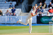 Lancashire's Liam Livingstone during the Specsavers County Champ Div 1 match between Somerset County Cricket Club and Lancashire County Cricket Club at the County Ground, Taunton, United Kingdom on 4 May 2016. Photo by Graham Hunt.