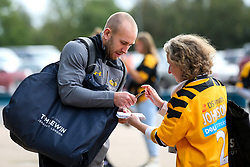 Dan Robson of Wasps arrives at The Ricoh Arena for the Premiership Cup fixture with Worcester Warriors - Mandatory by-line: Robbie Stephenson/JMP - 12/10/2019 - RUGBY - Ricoh Arena - Coventry, England - Wasps v Worcester Warriors - Premiership Rugby Cup