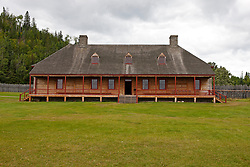 Exterior of the Great Hall, Grand Portage National Monument, Grand Portage, Minnesota, United States of America