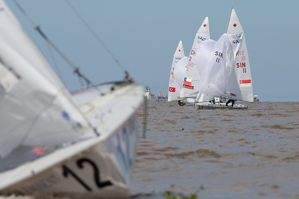 2016 470 World Championship. <br /> 20-27 February 2016. <br /> San Isidro, Argentina.<br /> Photo Credit  &copy; Matias Capizzano