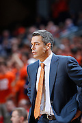 CHARLOTTESVILLE, VA - DECEMBER 4: Head coach Tony Bennett of the Virginia Cavaliers looks on against the Wisconsin Badgers during the Big Ten/ACC Challenge game at John Paul Jones Arena on December 4, 2013 in Charlottesville, Virginia. Wisconsin won 48-38. (Photo by Joe Robbins) *** Local Caption *** Tony Bennett