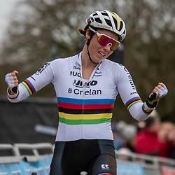 21-12-2019: Cycling : Waaslandcross Sint Niklaas: Sanne Cant takes her first win of the season