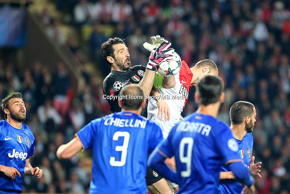 Gianluigi  BUFFON - 22.04.2015 - Monaco / Juventus Turin - 1/4Finale retour Champions League<br /> Photo : Serge Haouzi / Icon Sport