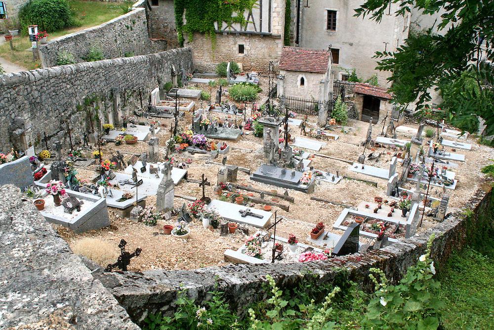 Burial Grounds, Saint-Cirq-Lapopie, France
