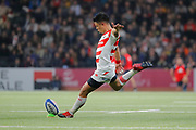 Yu Tamura (JPN) scored a penalty during the Rugby Union Autumn Test match between France and Japan on November 25, 2017 at U Arena in Nanterre, France - Photo Stéphane Allaman / ProSportsImages / DPPI