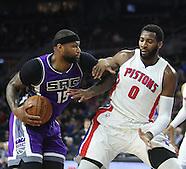 Sacramento Kings vs. Detroit Pistons- 23 Jan 2017