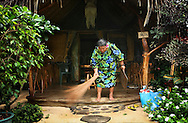 Copyright Jim Rice © 2013.<br /> Local woman.<br /> Huahine.<br /> Polynesia.