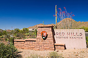 Red Hills Visitor Center, Saguaro National Park (Tucson Mountain District), Arizona USA