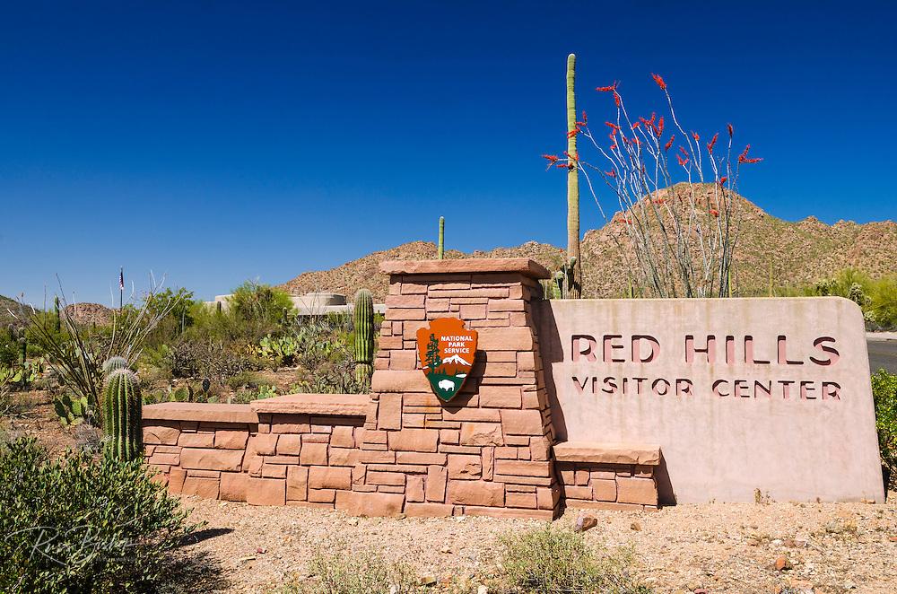 Red Hills Visitor Center, Saguaro National Park (Tucson Mountain District), Arizona USA