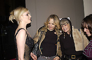 Sophie Dahl, Bay Garnett and Anita Pallenberg. Versace exhibition opening. V. & A. 14 October 2002. © Copyright Photograph by Dafydd Jones 66 Stockwell Park Rd. London SW9 0DA Tel 020 7733 0108 www.dafjones.com