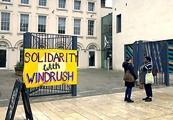 The Black Cultural Archives in Brixton, London, where a Solidarity with Windrush meeting took place.