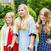 NLD/Wassenaar/20160708 - Jaarlijkse Koninklijke fotosessie 2016 zomer,