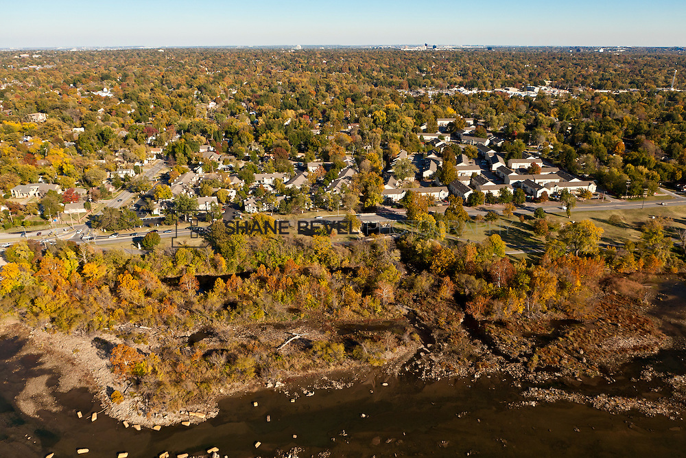 11/4/11 4:21:58 PM -- Riverside aerials..Photo by Shane Bevel.Aerial images of Tulsa's Riverparks and views of downtown Tulsa as well as the riverside area.