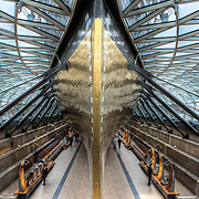 Cutty Sark was one of the last tea clippers to be built and one of the fastest. Rebuilt after a fire burnt her down in 2007, the ship has now been restored to her full glory. This image won National Historic Ships runner-up award 2014.